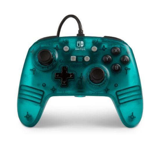 1513055 Manette De Jeu Nintendo Switch Analogique Usb Vert