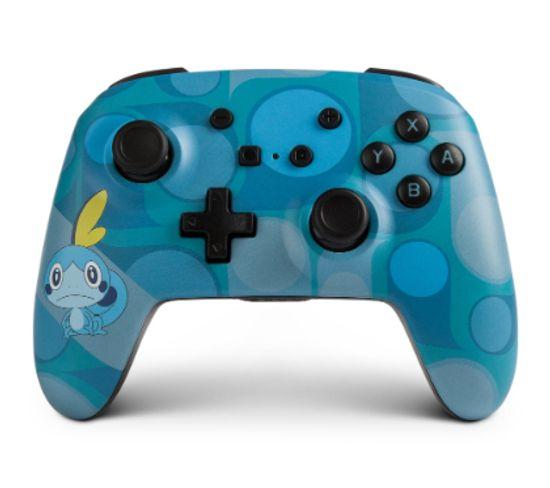 1514378-01  Manette De Jeu Nintendo Switch Bluetooth Bleu