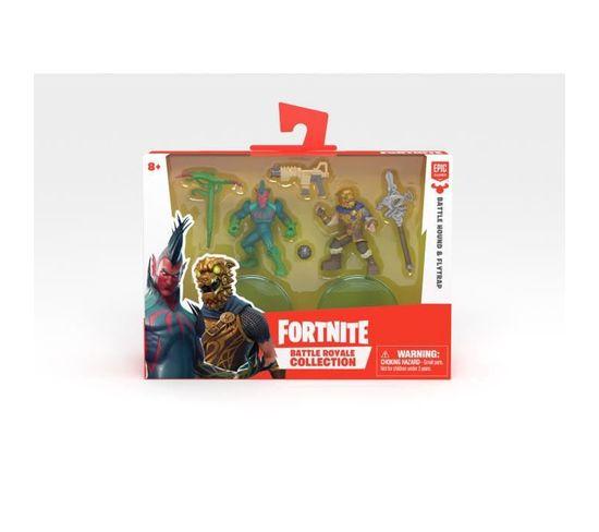 Fortnite Battle Royale Pack Duo Figurines 5cm Modele Aléatoire