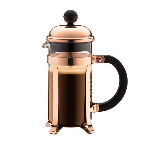 Cafetière À Piston 3 Tasses 0.35l Cuivre - 1923-18