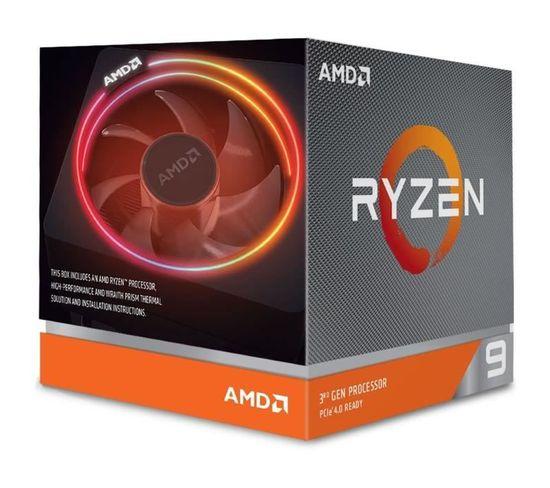 Processeur Ryzen 9 3900x Wraith Prism Cooler