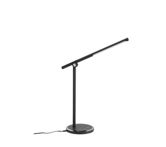 Lampe de bureau LED H.58 cm CLARK Noir mat