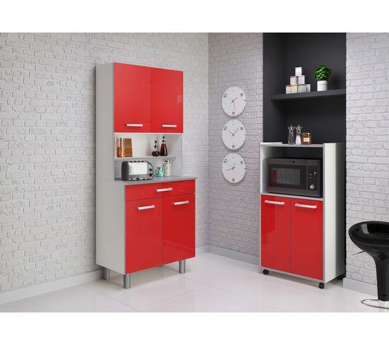 Buffet PIXEL 3371 - Rouge brillant