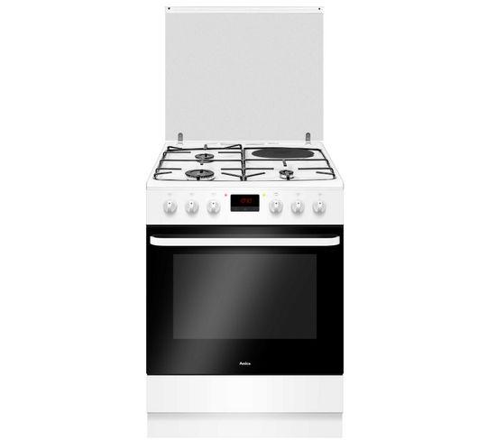 Cuisinière Mixte Électrique 77l Amica 6950w 60 cm A - Acm7037b1