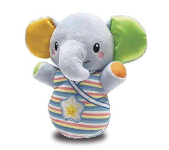 Peluche Veilleuse Elephanteau Dodo Bleu - 80-508605