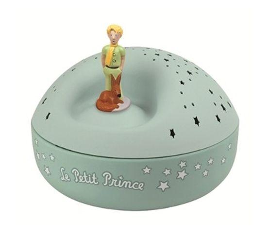 Veilleuse Projecteur D'etoiles Musical Le Petit Prince© Piles Incluses
