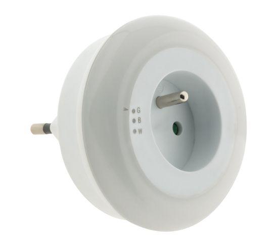 Veilleuse LED Multicolore Automatique Avec Capteur De Jour