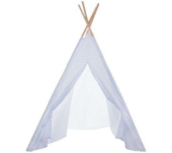 Tipi décoratif TIPI Bleu