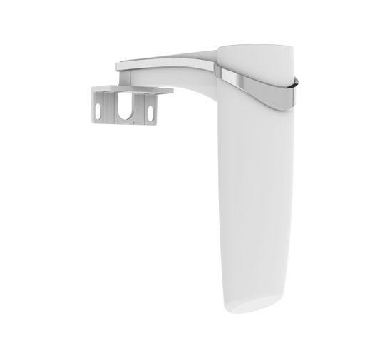 Applique LED Pour Miroir De Salle De Bain Gota 3 W - 3,7 X 11,7 X 11,9 Cm - Chromé Brillant