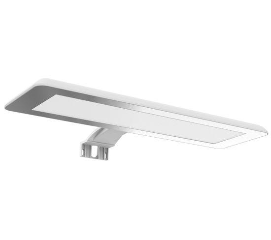 Applique LED Pour Miroir De Salle De Bain Luceo 10 W Blanc Mat