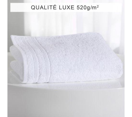 Serviette Invité Coton 520 Gm² Tertio®  Blanc-30 X 50