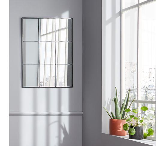 Miroir 60x81 cm RACHELLE Noir