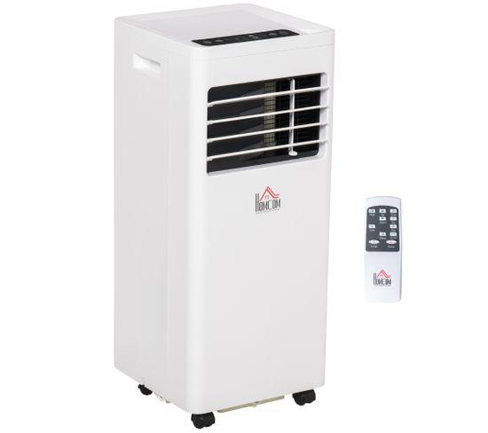 Climatiseur Ventilateur Déshumidificateur 3 En 1 - 8.000 Btu/h - Blanc