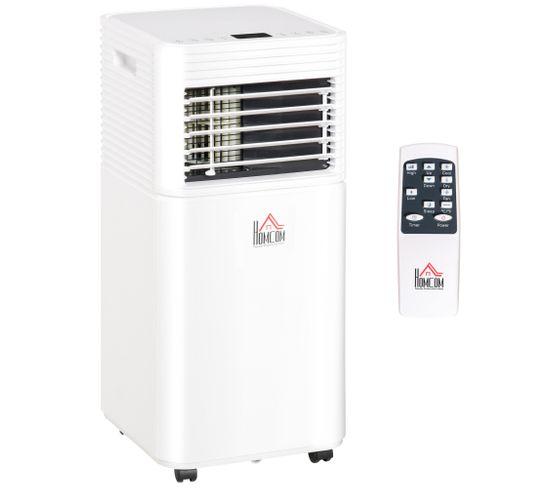 Climatiseur Ventilateur Déshumidificateur 3 En 1 - 10 000 Btu/h - Blanc