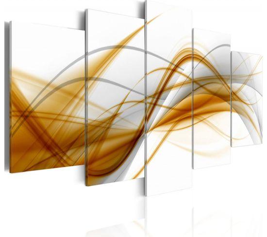 Tableau Souffle De L'abstraction 100 X 50 Cm