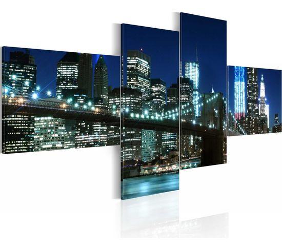 Tableau Brooklyn Bridge 100 X 45 Cm