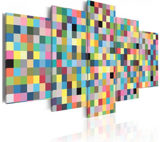 Tableau Colors Factory 100 X 50 Cm