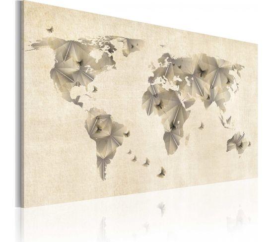 Tableau Atlas Des Papillons 90 X 60 Cm
