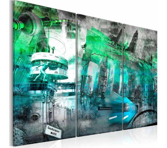 Tableau Berlin Architecture Vert 120 X 80 Cm