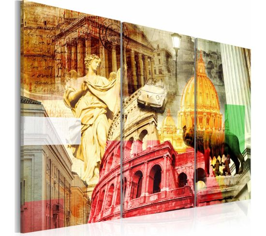 Tableau Rome Charmant 60 X 40 Cm