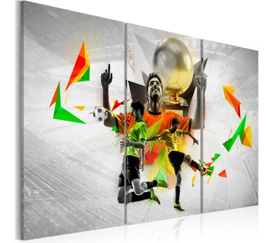Tableau Rêves De Football 60 X 40 Cm