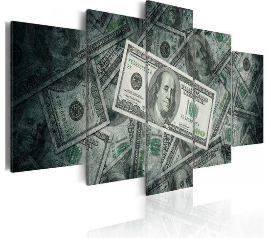 Tableau Money, Money ... 200 X 100 Cm