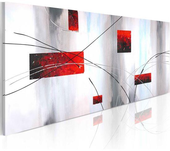 Peinture Sur Toile Manifestation Geometrique