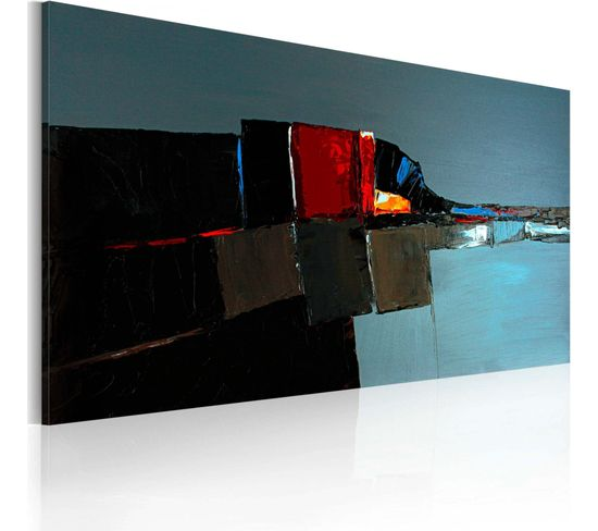 Peinture Sur Toile Elephant Dans L'abstraction