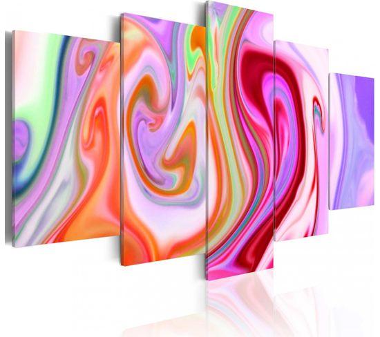 Tableau Pastel Clouds 100 X 50 Cm