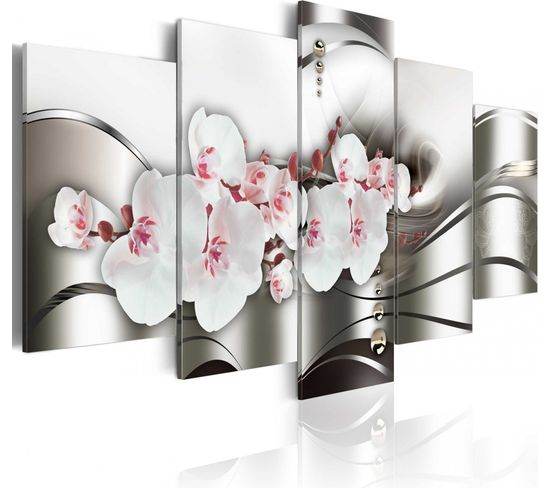 Tableau The Beauty Of Orchids 100 X 50 Cm