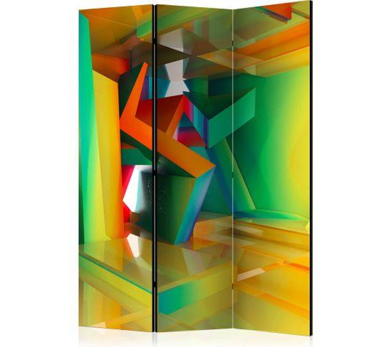 Paravent 3 Volets Colourful Space