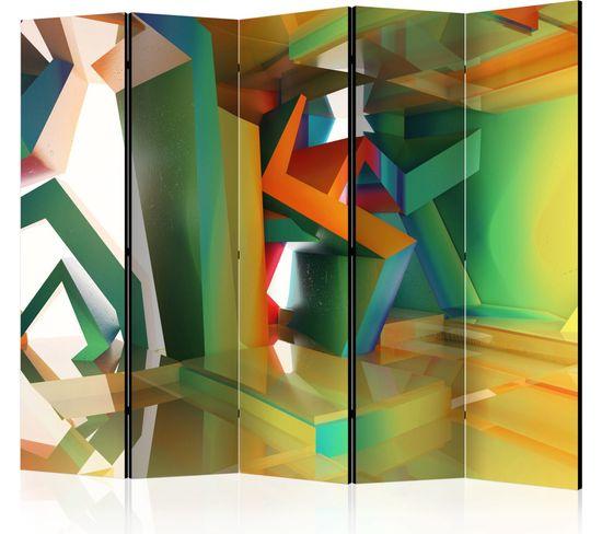 Paravent 5 Volets Colourful Space Ii