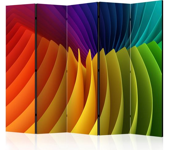 Paravent 5 Volets Rainbow Wave Ii