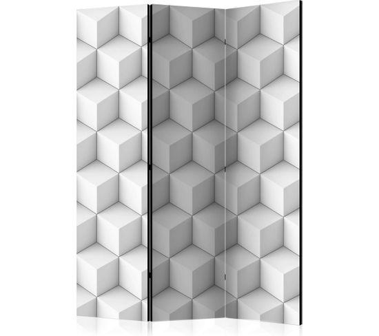 Paravent 3 Volets Cube I