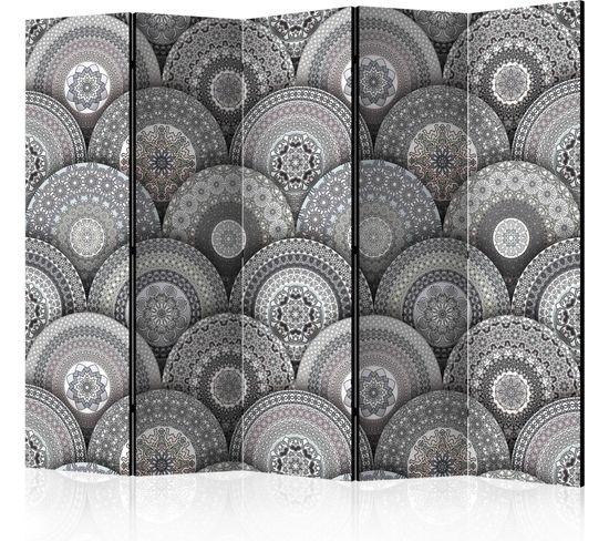 Paravent 5 Volets Room Divider: Mandalas Ii