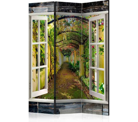 Paravent 3 Volets Secret Garden