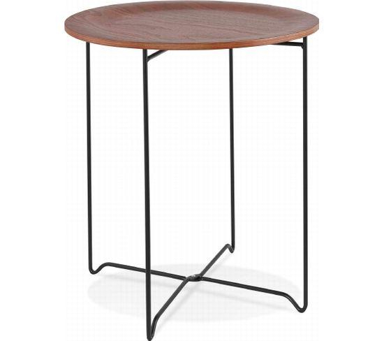Table Basse Design Oola bois foncé