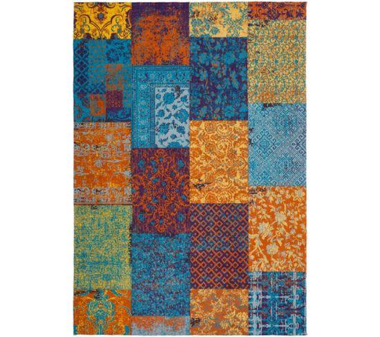 Tapis Fait Main Symphony 160 Multicolore 80 X 150 Cm