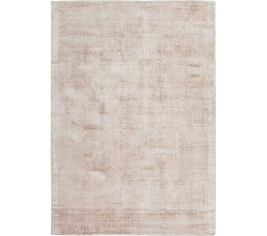 Tapis Fait Main Luxe 110 Ivory Taupe 80 X 150 Cm