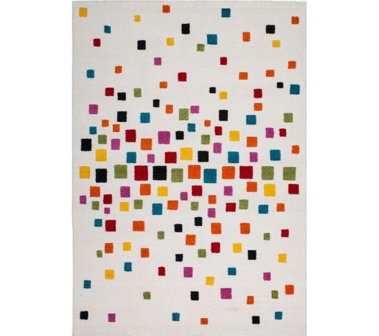 Tapis Tissé Castara 248 Multicolore 80 X 150 Cm