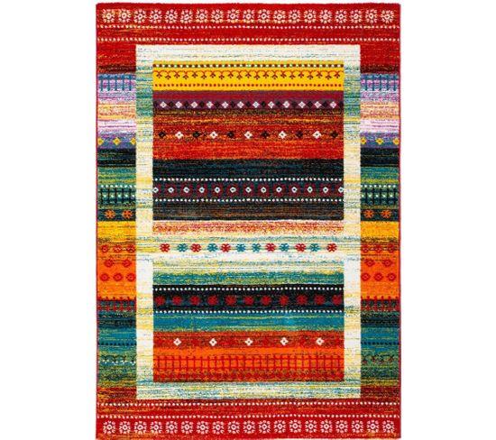 Tapis Tissé Castara 253 Multicolore 120 X 170 Cm