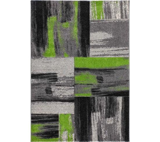 Tapis Tissé Dominique Roseau Vert 120 X 170 Cm