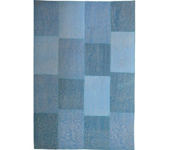 Tapis Fait Main 110 Lyrical Multicolore Bleu 200 X 290 Cm
