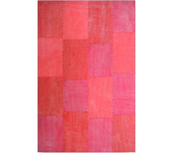 Tapis Fait Main 110 Lyrical Multicolore Rouge 200 X 290 Cm