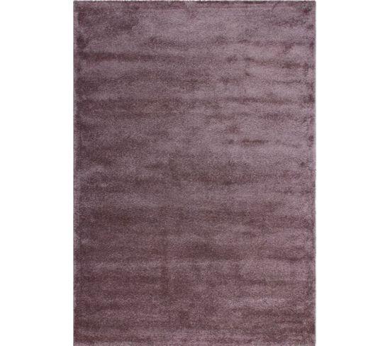 Tapis Tissé Sainte Lucie Castries Pastel Violete 80 X 150 Cm