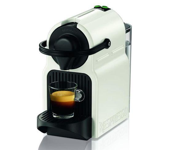 Machine Expresso A Capsules Nespresso Inissia - Pression 19 Bars - Blanc- Yy1530fd