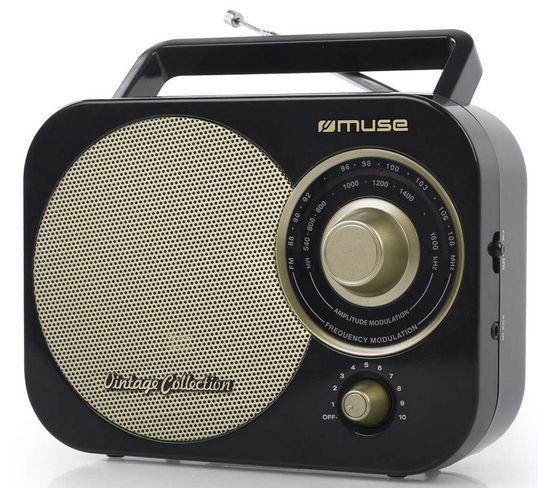 Radio Portable Analogique Noir - M055rb