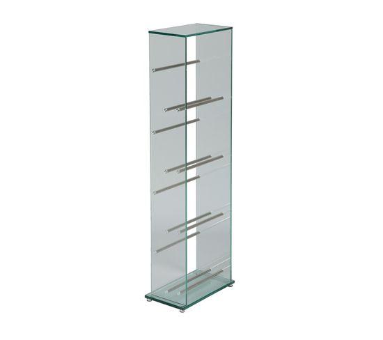 Colonne Range Dvd Verre Glass Bibliotheque Et Etagere But