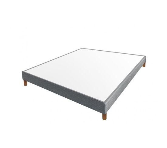 Pack GRAPHIC : Lit avec sommier + Deux tables de chevet à 1