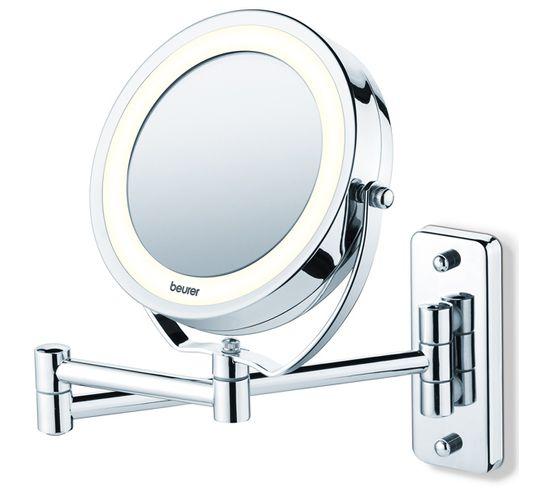 Miroir Grossissant Lumineux X5 Avec Fixation Mural - Bs59